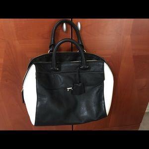 Karen Millen Black and White purse
